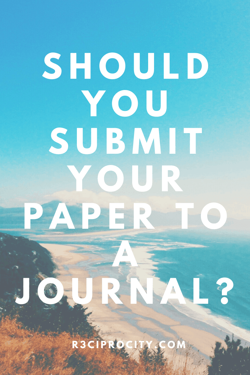How Do You Know Your Paper Is Ready For Journal Submission (Online Quiz)?